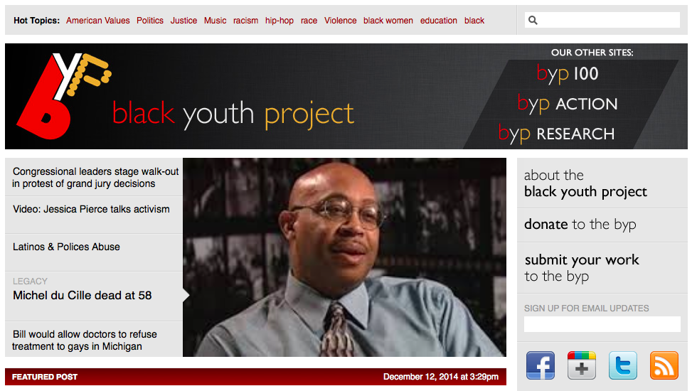 The Black Youth Project's blog