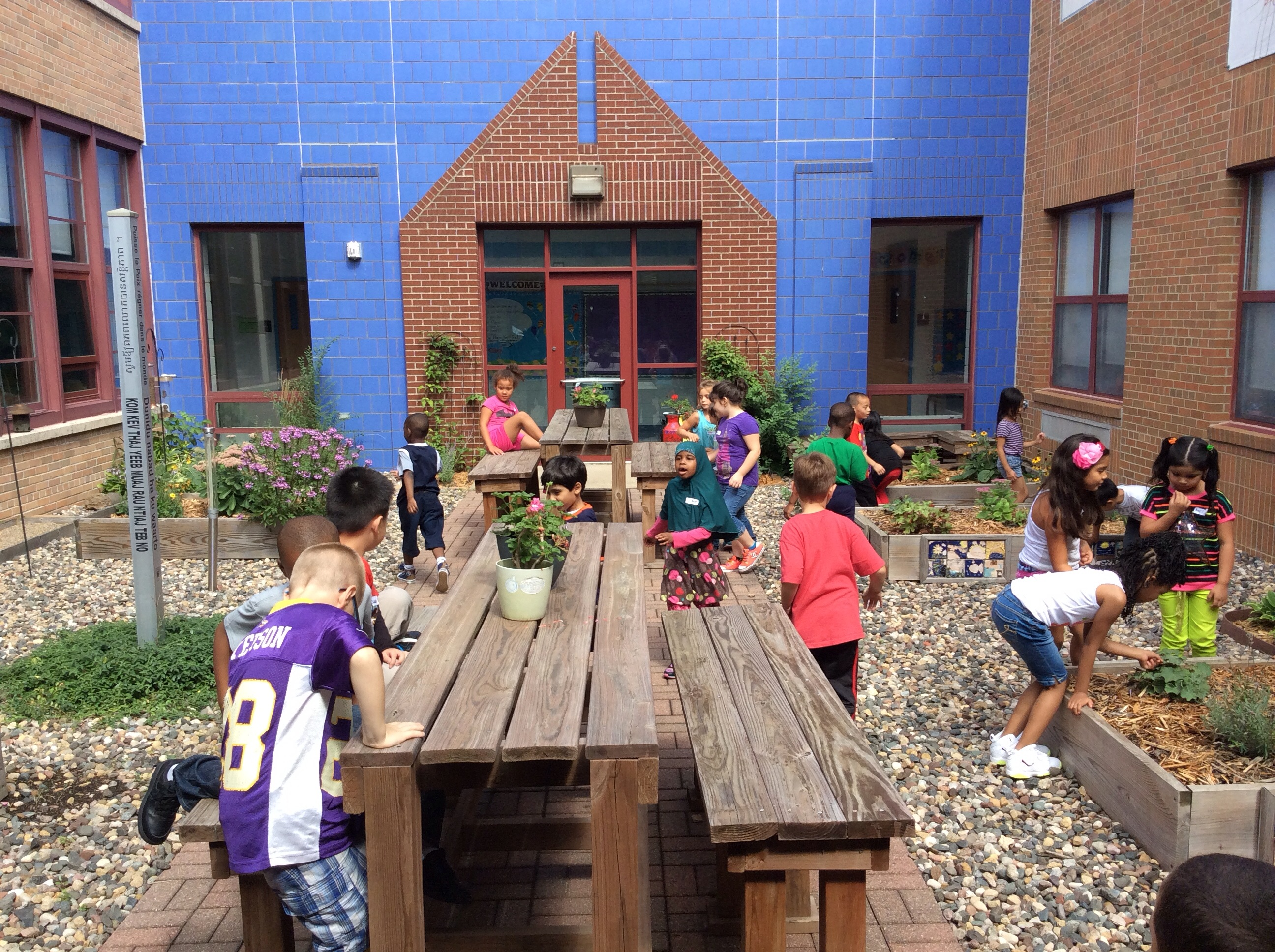 Garden Outside Learning Studio