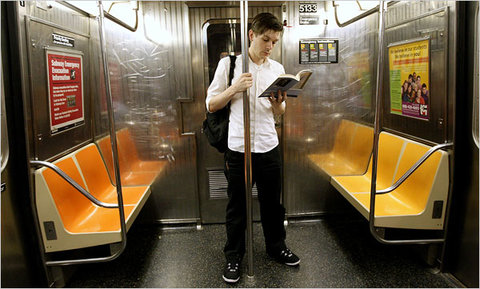 summer reading subway